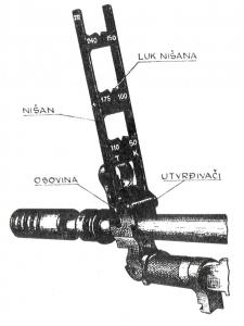 M59-66 Grenade Launcher Sight