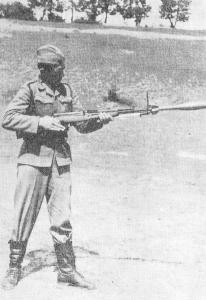 M59/66 Grenade Launching Demostration