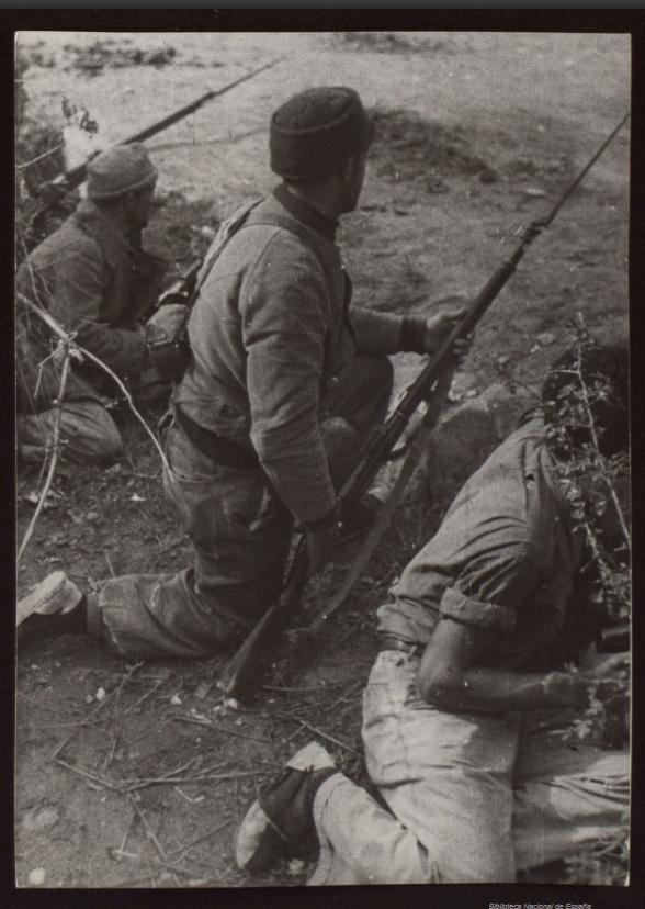"Republican use of the M91 ""Three-Line"" Mosin-Nagant"