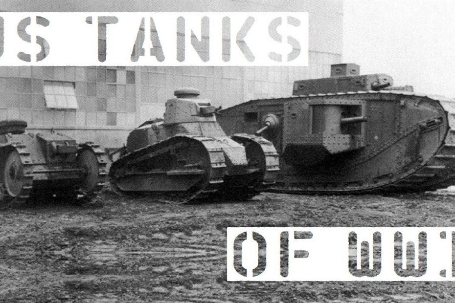 US Tanks of WW1