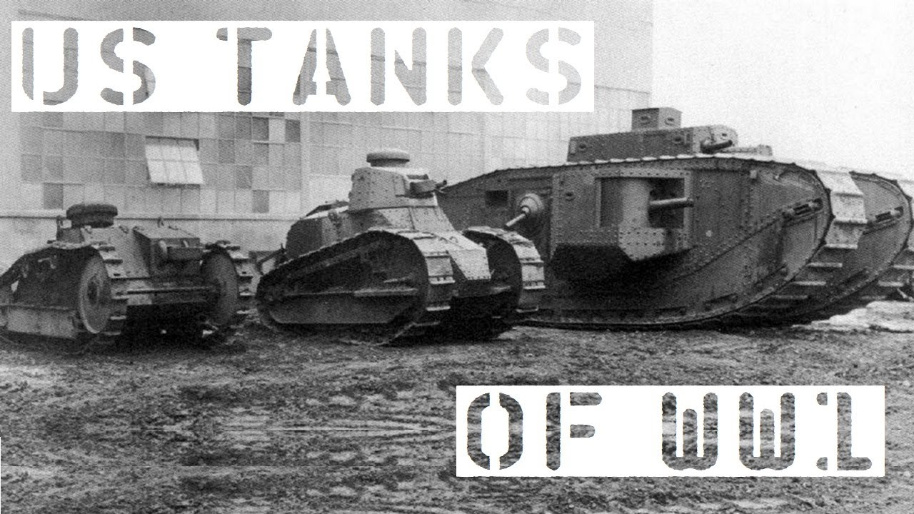 US Tanks of WW1