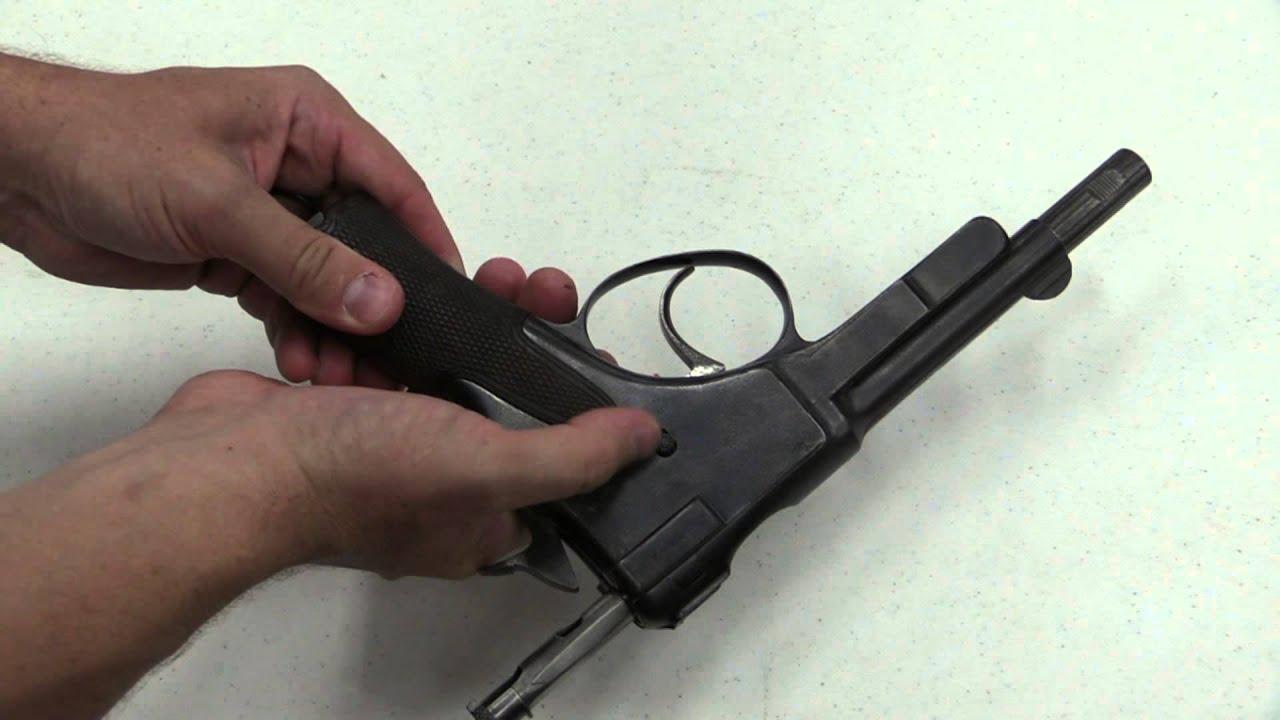 Krnka 1895 Semiauto Pistol