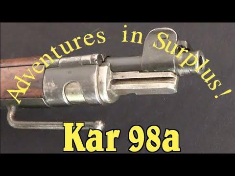 Adventures in Surplus: A WW1 & Weimar Police Kar98a Carbine