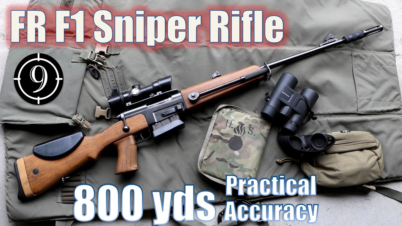 ?FR-F1 sniper to 800yds: Practical Accuracy + GIGN Loyada Hostage Rescue [feat. Forgotten Weapons]