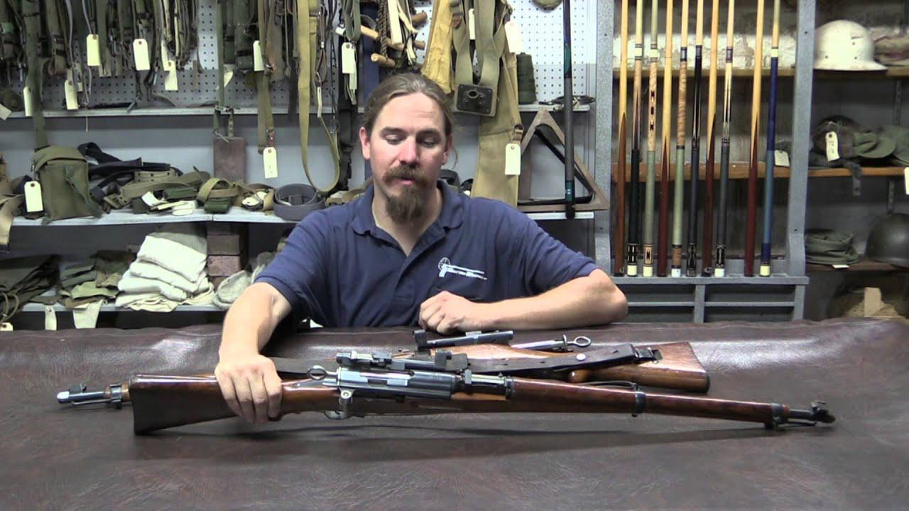Swiss K31/42 and K31/43 Sniper Rifles