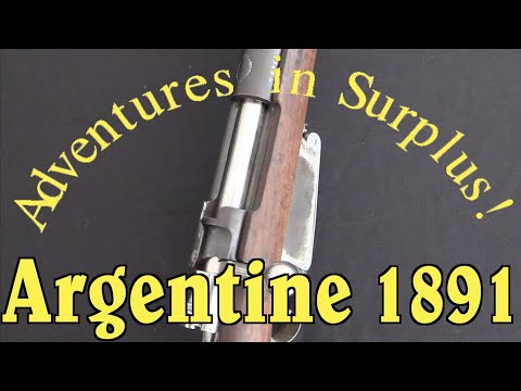Adventures in Surplus: Chromed Argentine 1891 Parade Rifle