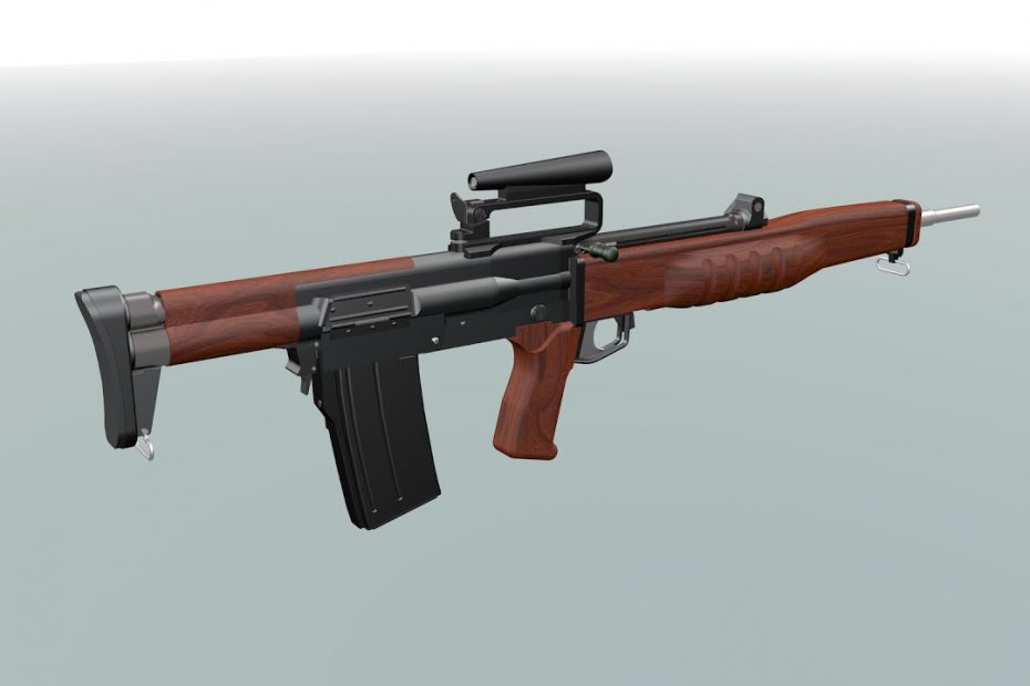 EM-2 Bullpup Rifle 1951