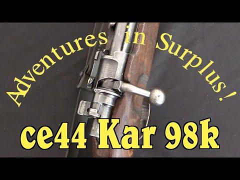 "Adventures in Surplus: Mid-war ""CE44"" German Kar 98k"