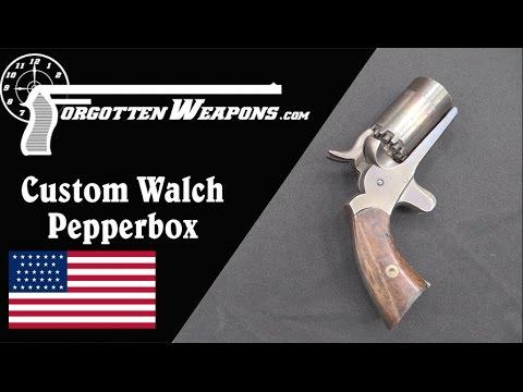 Custom Cut-Down Walch 10-Shot Pepperbox Revolver