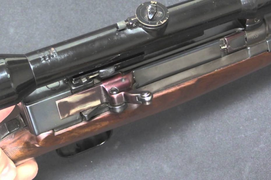Walther – Heinemann Toggle Lock Sporting Rifle