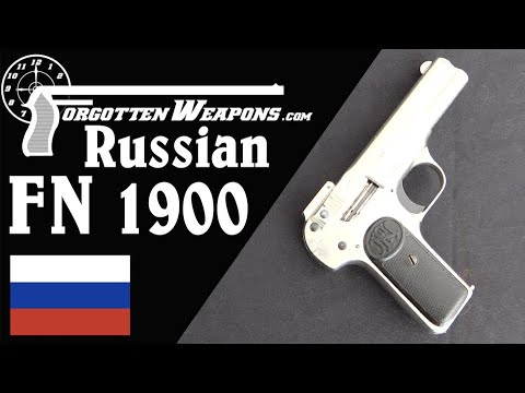 FN 1900 for the Russian Imperial Army Fencing & Gymnastics School