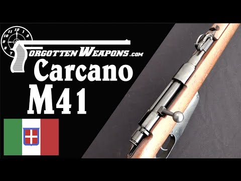 M91/41: A Step Back From the M38 and the Last Carcano