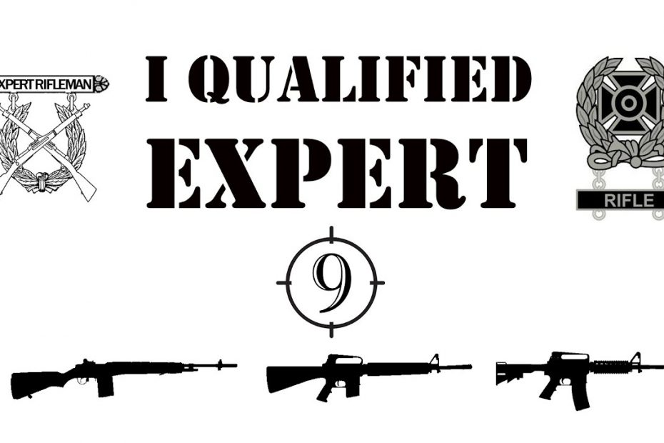 I qualified EXPERT…. what does that mean? [Feat. Bloke On The Range]