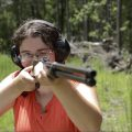 Mae Fires the WWI Winchester 1892