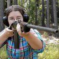 Mae Shoots the Springfield 1903 Air Service Rifle