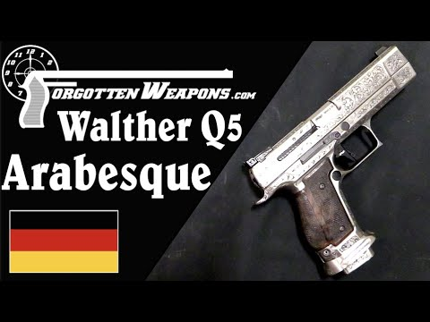 "Walther Q5 ""Arabesque"": Art in the Form of a Match Pistol"