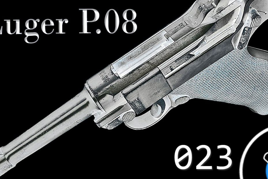 How It Works: German Luger P08