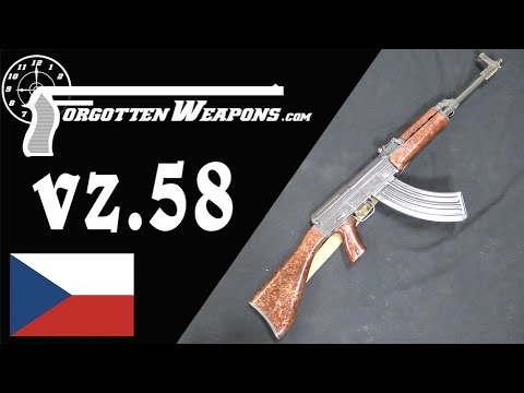 Samopal vz.58: The Czechoslovakian Answer to the AK