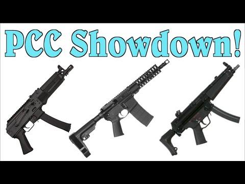 PCC Showdown: H&K SP-5 vs Kalashnikov USA KP-9 vs CMMG Banshee