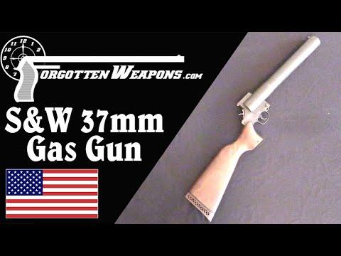 S&W Chemical Company 37mm Gas Gun
