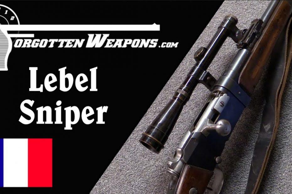 A Rare World War One Sniper's Rifle: Model 1916 Lebel