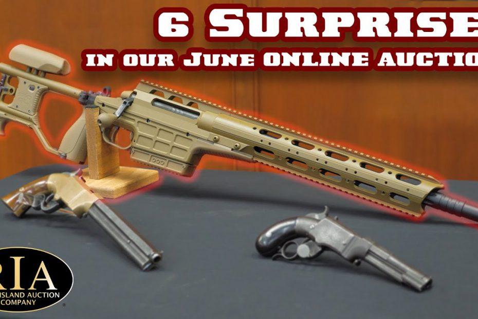 6 Surprises in Our June Online Auction!