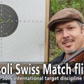 Shooting a flintlock Swiss Match rifle on competition – tips and tricks