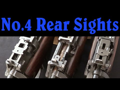 Wartime Evolution of the No4 Lee Enfield Rear Sight