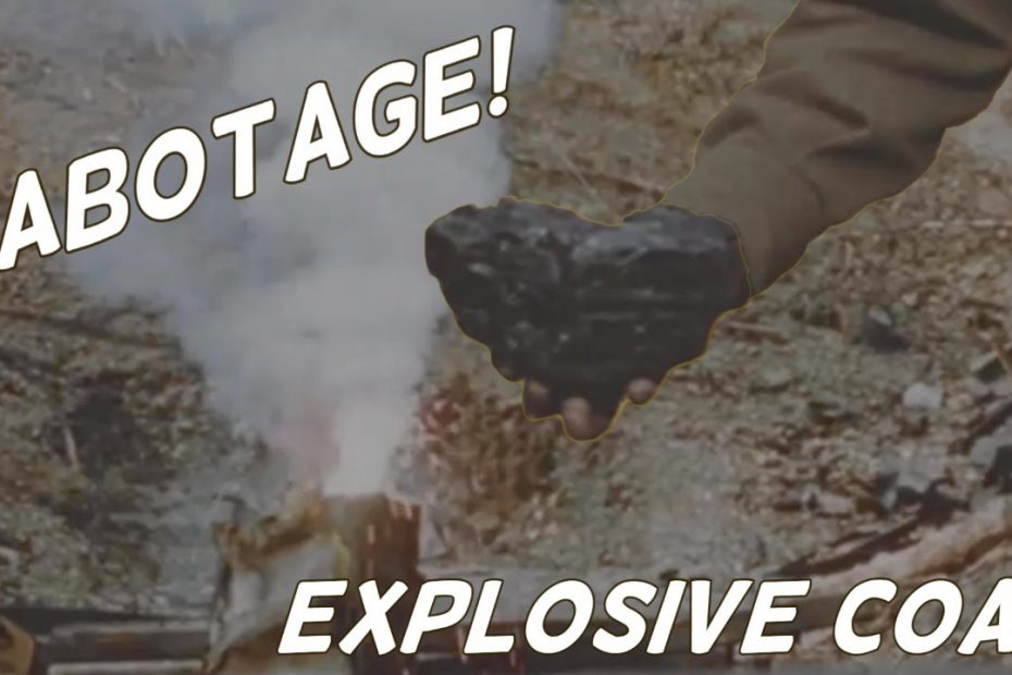 SOE Sabotage – Explosive Coal