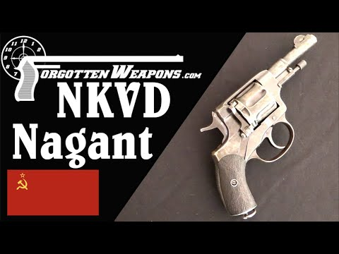 NKVD Officer's Model Nagant Revolver