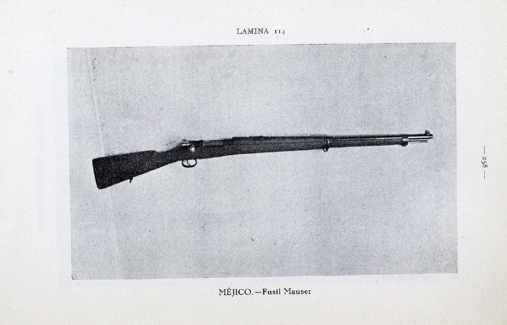 A Republian-issued Mexican 1910 Mauser rifle