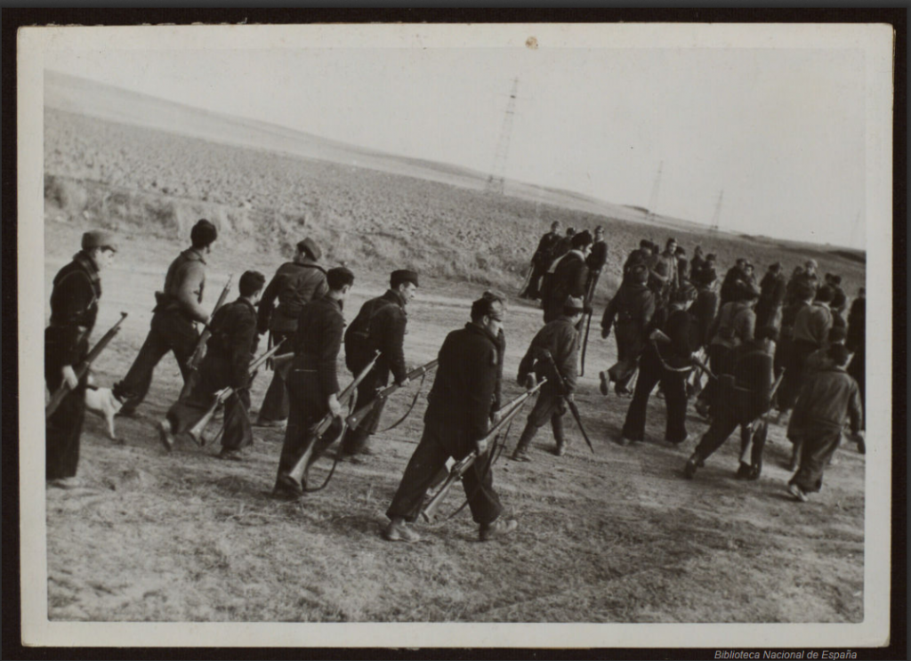 Republican soldiers with P14 Enfields