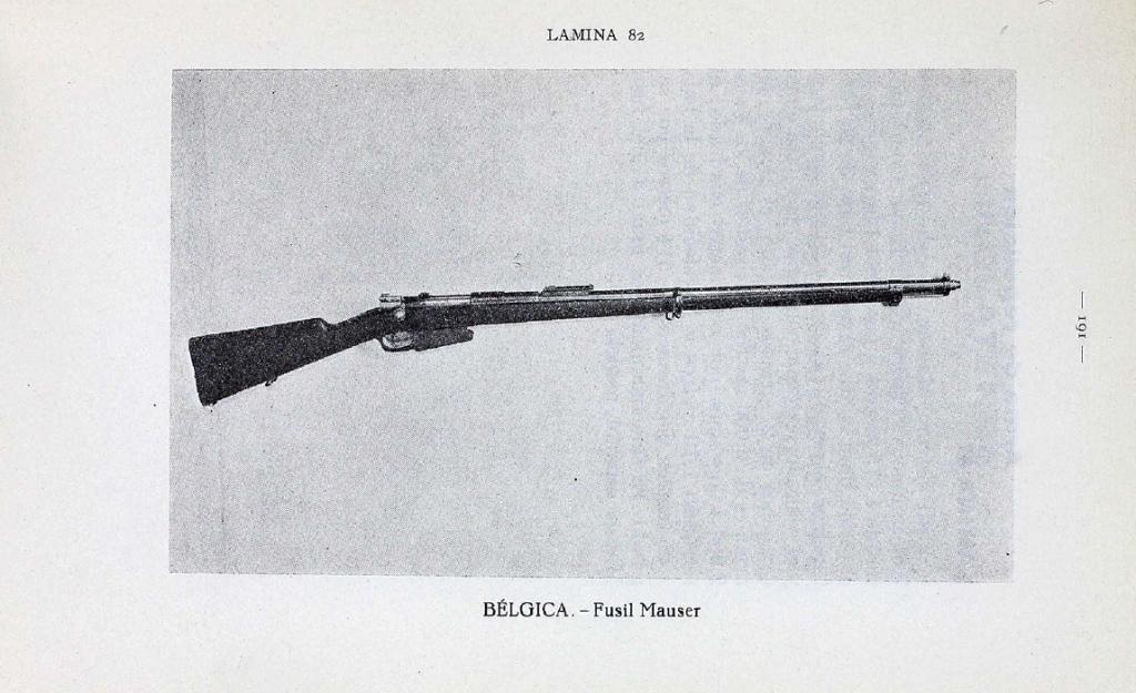 A captured Belgian 1889 Mauser