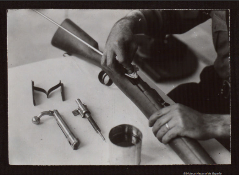 Cleaning a Spanish Mauser
