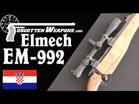 Elmech EM-992: Croatia's First Domestic Sniper Rifle