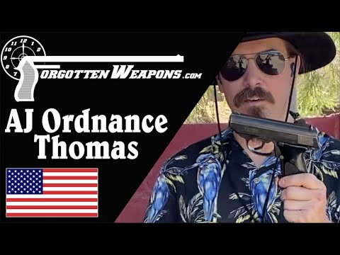 "AJ Ordnance ""Thomas"" at the Backup Gun Match"