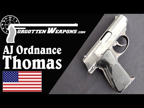 "AJ Ordnance ""Thomas"" – A .45 Locked by Grip Alone"