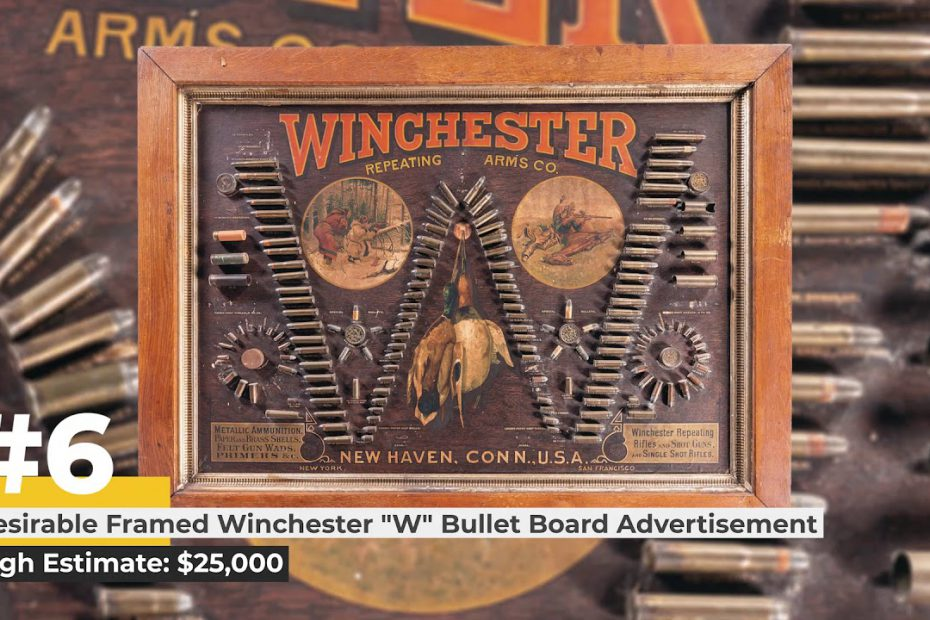 Top 10 Items of the October Sporting & Collector Auction