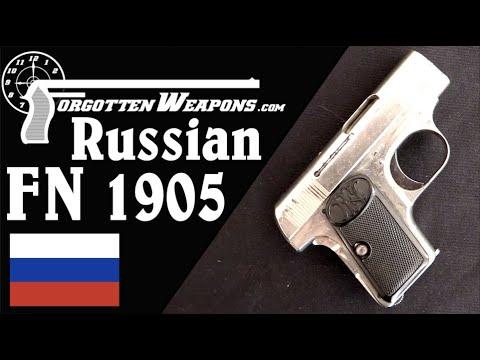 Russian FN 1905 Vest Pocket Officer's Pistol