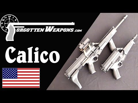 Calico Light Weapons System: Roller Delay and Helical Drums