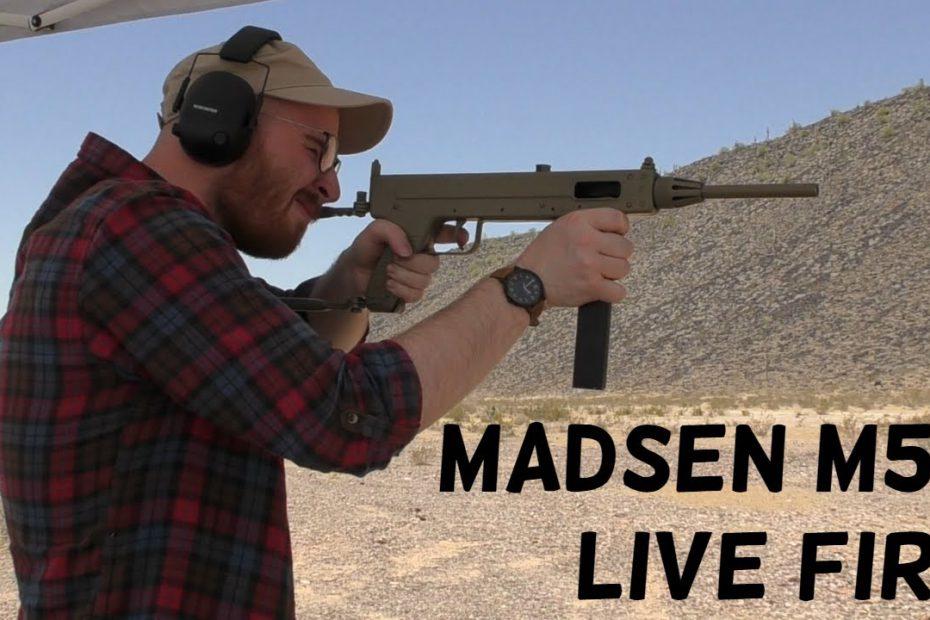 TAB Episode XX: Madsen M50 – Live Fire