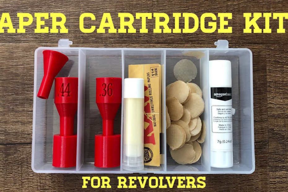 Paper Cartridge Kits