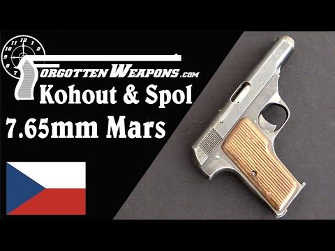 Kohout & Spol 7.65mm Mars Pistol