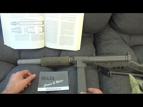9mm Silenced STEN Mk.II(S) Machine Carbine: quick tour and how to tell a fake
