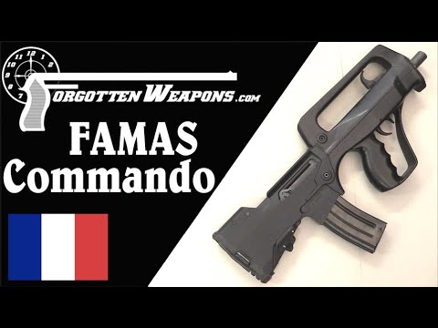 FAMAS Commando Prototypes
