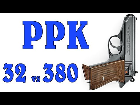 Walther PPKs on the Range: Comparing the .32 to the .380