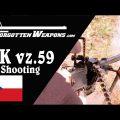 UK vz.59 Czech Universal Machine Gun: Shooting