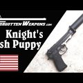 "Knight's XM9 Beretta ""Hush Puppy"" – For USAF Survival Kits"
