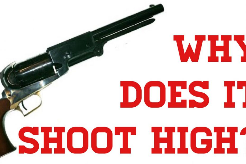 Colt Revolvers: Why Do They Shoot So High?
