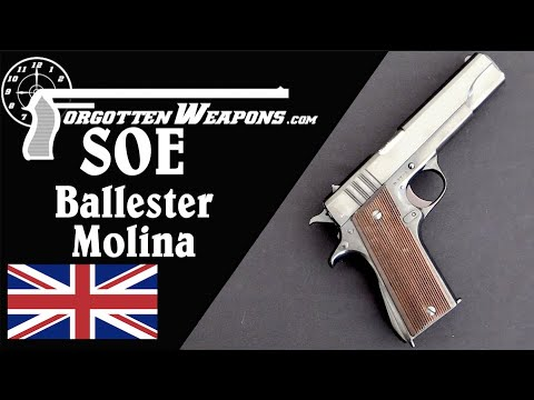 British Ballester Molina for Special Operations Executive